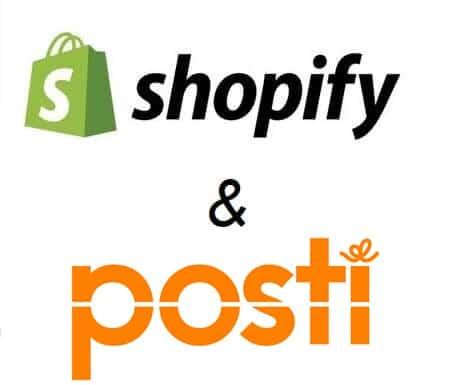 Posti Shopify
